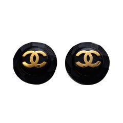 Chanel Clip On  Large Earrings
