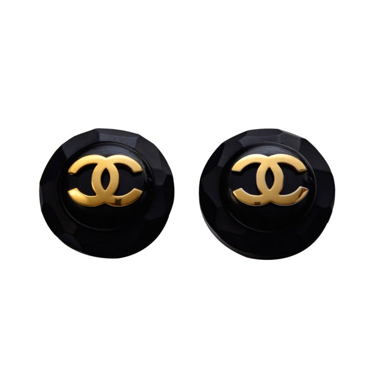 Chanel Clip On  Large Earrings 1