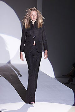 Tom Ford for Gucci Crocodile Textured Black  Suit For Sale 2