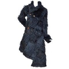 Comme Des Garcons  Fake Fur Coat '02  MET Museum NY