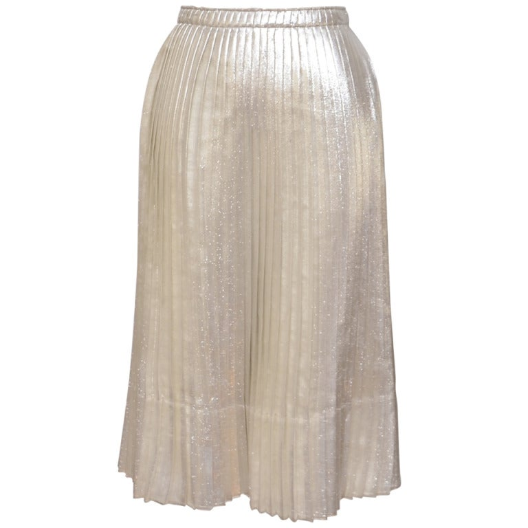 Jil Sander Metallic Skirt 1