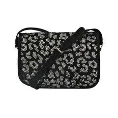 Balmain Swarovski Crystals Handbag New