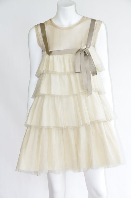 Lanvin Wedding Dress  As Seen In  Sex And The City  Vogue Shoot With SJ Parker 2
