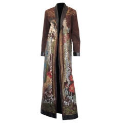 Painted Duster Coat