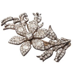 Diamond Tremblant Brooch