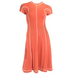 Clovis Ruffin Dress