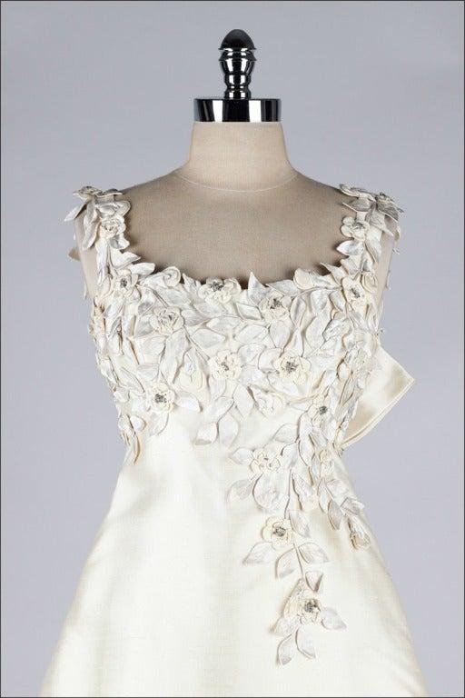 Vintage 1960 39 s saks fifth avenue wedding dress at 1stdibs for Saks fifth avenue wedding guest dresses