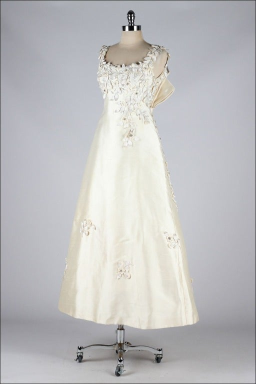 Vintage 196039s saks fifth avenue wedding dress image 5 for Saks wedding dresses
