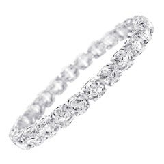 One Carat Each Diamond Tennis Bracelet
