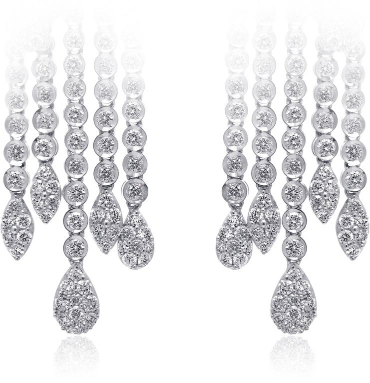 Chandelier Diamond Earrings 2