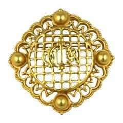 Christian Dior Logo Crest