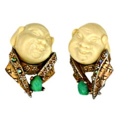 Har Asian Man Earrings