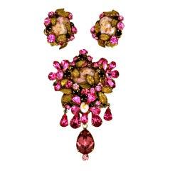 DeMario Pink Crystal Suite