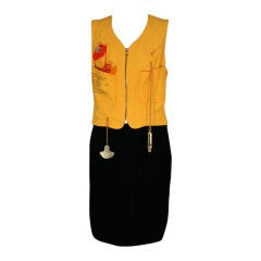 Moschino Life Saver Cocktail Dress