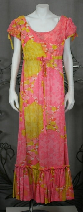 Lilly Pulitzer Georgette Floral Dress 2
