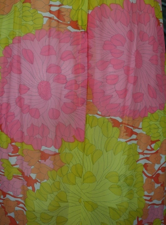 Lilly Pulitzer Georgette Floral Dress For Sale 1