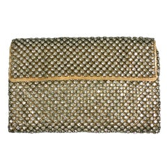 Art Deco Pave Envelope Clutch