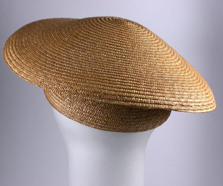 Coolie Hat: Sonia Rykiel Straw Coolie Hat At 1stdibs