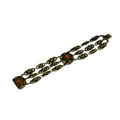 French  Revivalist Link Bracelet
