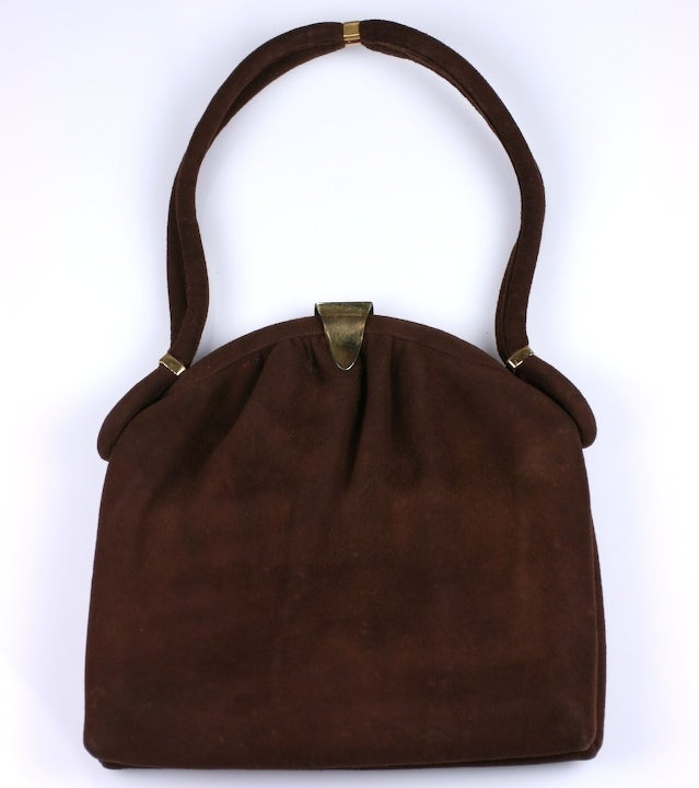 how to clean suede purse at home