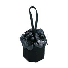 Lulu Guiness Sequin Flower Pot Purse