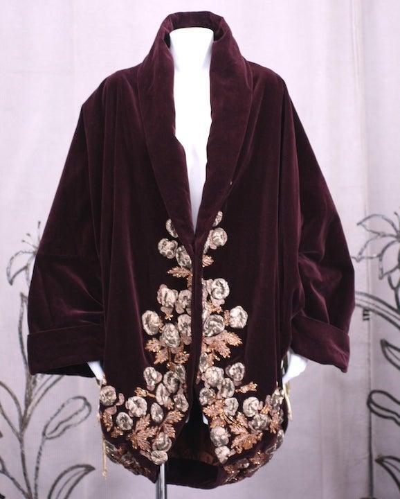 Iconic Romeo Gigli Orientalist  Cocoon Coat 2