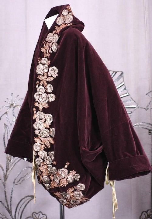 Iconic Romeo Gigli Orientalist  Cocoon Coat 3