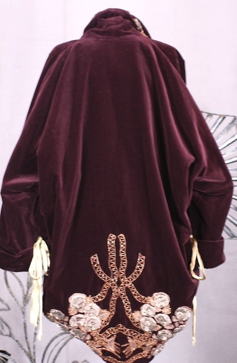 Iconic Romeo Gigli Orientalist  Cocoon Coat 4