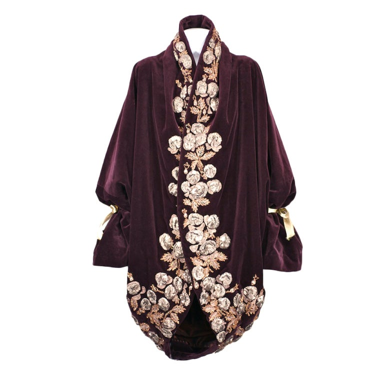 Iconic Romeo Gigli Orientalist  Cocoon Coat 1