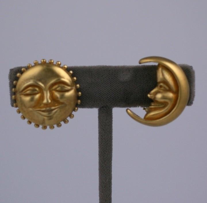 Sun and Moon Earrings image 2