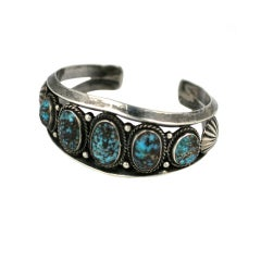 American Indian Turquoise Cuff