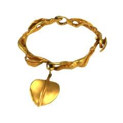 Modernist Leaf Bracelet