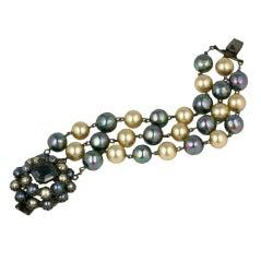 Rare Countess Cis Pearl Bracelet