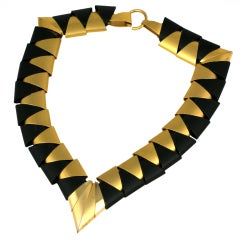 Architectural 80s Necklace