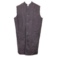 Sprouse Mens Denim Rocker Vest.