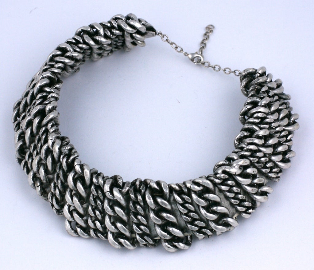 Heavy Metal Chain Collar, MWLC 2