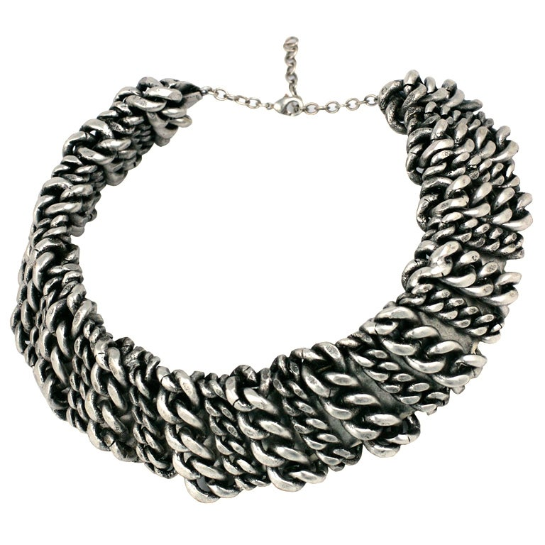 Heavy Metal Chain Collar, MWLC 1