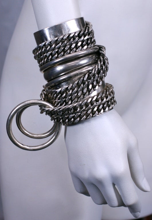 Heavy Metal Chain Cuff, MWLC 3