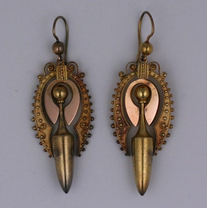 Women's Victorian Urn Earrings For Sale