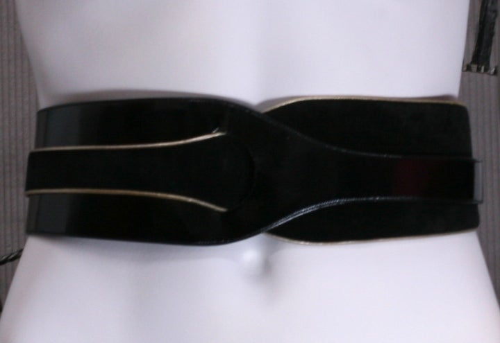 Ungaro Suede and Calf Knotted Belt