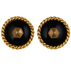 Chanel Classic Nail Head Earclips