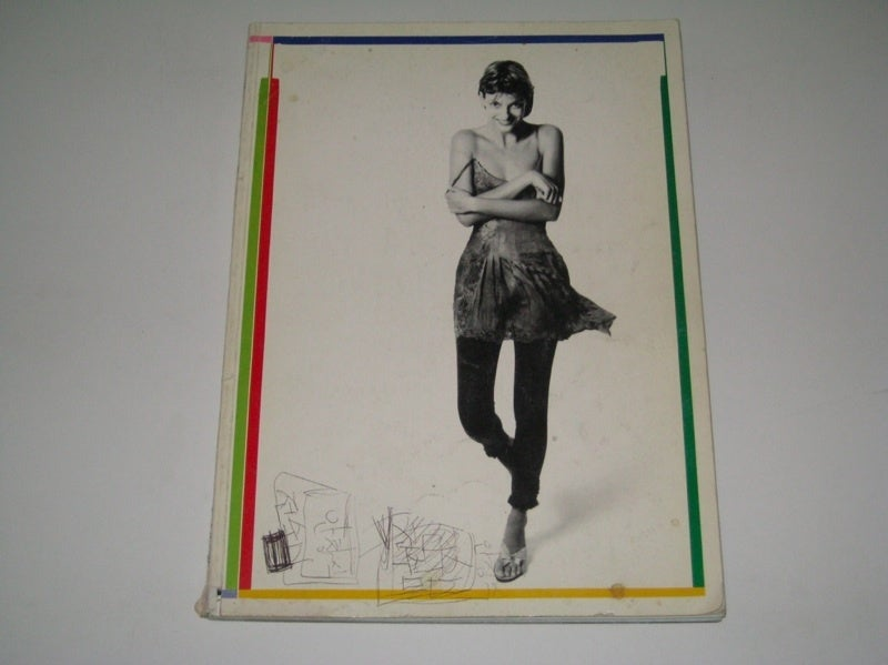 Gianni Versace Silk and Lace Denim Effect Mini 7