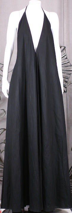 YSL Iconic Halter Gown 3