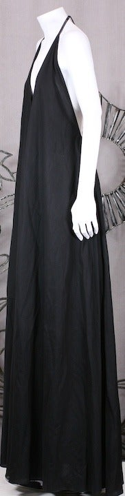 YSL Iconic Halter Gown 4