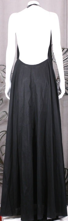 YSL Iconic Halter Gown 5