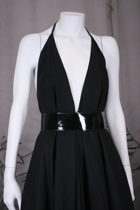 YSL Iconic Halter Gown 6