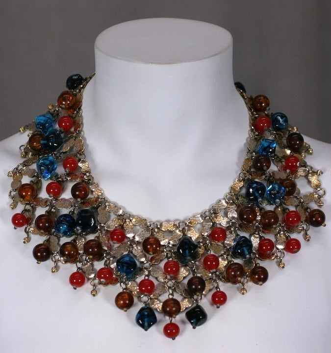 Important Cis Mughal Bib Necklace 3