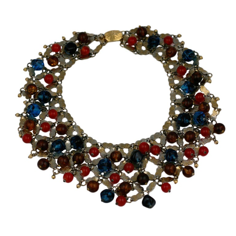 Important Cis Mughal Bib Necklace 1