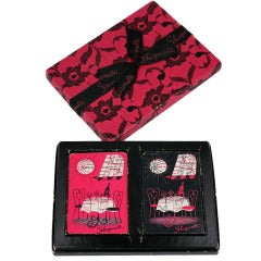 Schiaparelli Paris Bistro Playing Cards