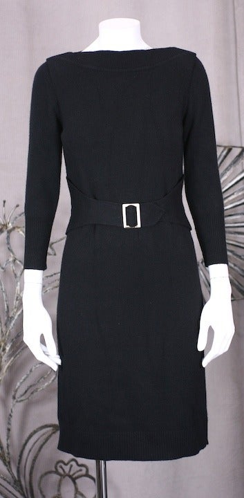 Chanel Cashmere Buckle Dress 2